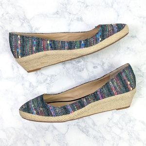 Lucky Brand Tily Espadrille Multicolored Wedges